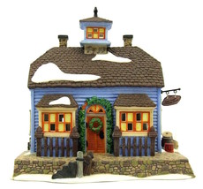 DEPT 56 NEW ENGLAND VILLAGE *CHOWDER HOUSE* 56571 RESTAURANT RETIRED WBX... - $21.16
