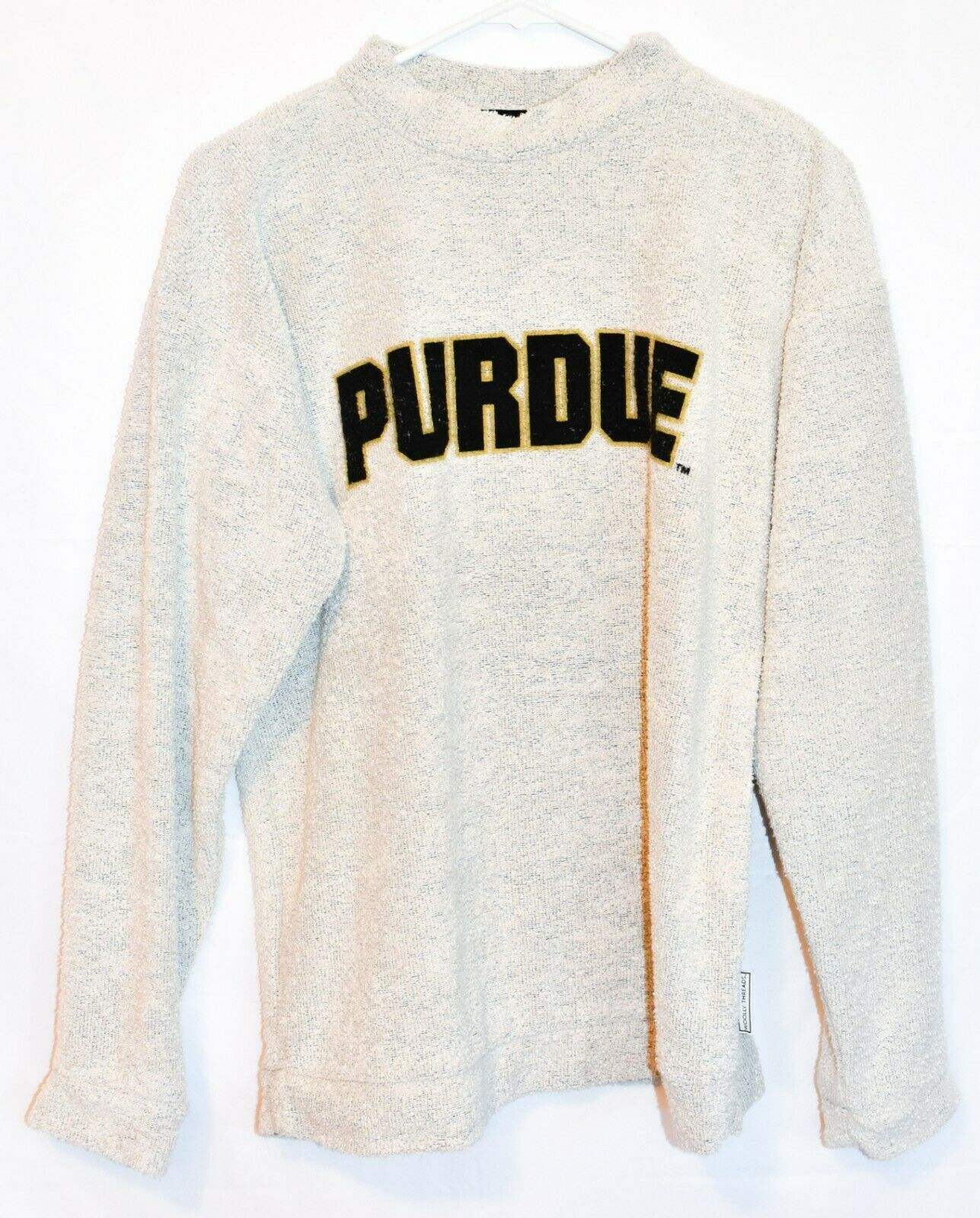 Woolly Threads Original Purdue Collegiate Sweatshirt Size S
