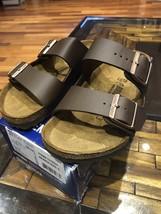 Birkenstock Arizona BS Sandal Womens 6 US / 37 EUR Dark Brown 0051701 Bi... - $64.30
