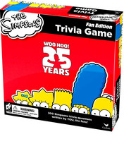 The Simpsons Trivia Game 25th Anniversary Fan Edition (Brand new, Factor... - $9.88