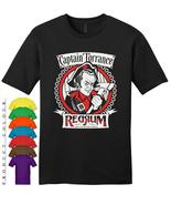 Captain Torrance Red Rum Mens Gildan T-Shirt New - $19.50