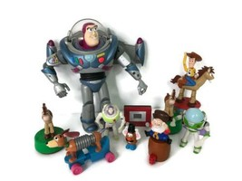 Lot of 10 Different Disney Pixar Assorted Toy Story W Buzz Action Figure... - $56.89
