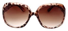 Vintage Designer Flat Top Aviator Oversized Women Gradient Sunglasses Le... - $9.89