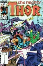 The Mighty Thor #352 Copper Age Collectible Comic Book Marvel Comics! - $3.19