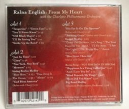 From My Heart with the Charlotte Philharmonic Orchestra Cd image 2