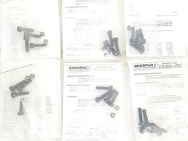 LOT OF 6 NEW ENERPAC INSTRUCTION SHEET SWING CYLINDERS METRIC HARDWARE KITS