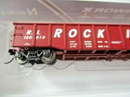 Trainworx Stock # 25243-13 to -18  Rock Island 52' Gondola N-Scale image 2