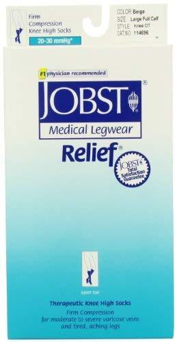 Jobst Relief, Large Full Calf, Beige - $42.87