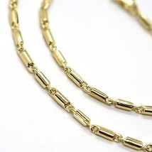 18K YELLOW GOLD CHAIN, 17.7 INCHES, ROUNDED TUBE LINK, THICKNESS 2 MM image 2