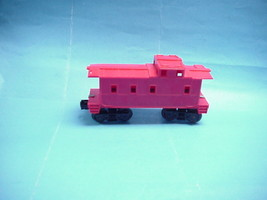 """Lionel/Timken Red Offset Cupola Caboose """"0/027"""" Scale - $7.91"""