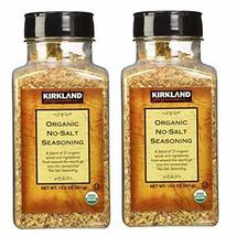 Kirkland Signature Organic No- Salt Seasonin, 14.5 Ounce (Pack of 2) - $29.60