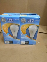 2 GE Lighting LED Bulb, A21, Medium Screw (E26), 5000K, 1600 lm, 15W, 120VAC ~ - $14.01