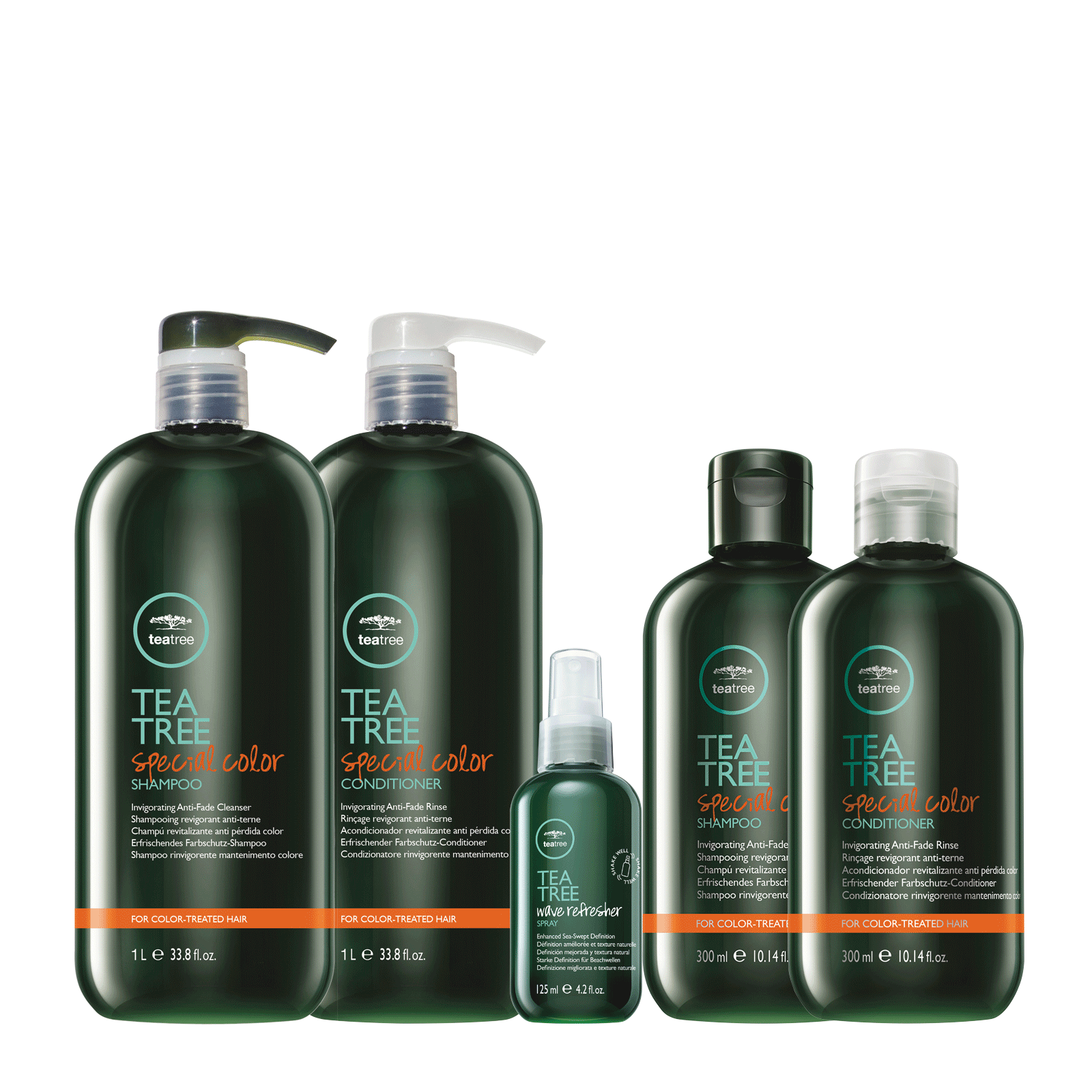 Paul Mitchell Tea Tree Special Color Shampoo, Conditioner 33.8 Liter Duo