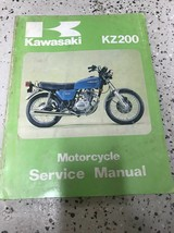 1976 1977 Kawasaki KZ200 KZ 200 Series Service Repair Shop Manual OEM  - $23.71
