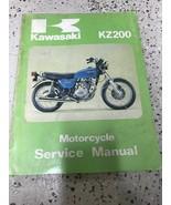 1976 1977 Kawasaki KZ200 KZ 200 Series Service Repair Shop Manual OEM  - $23.71