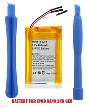 Replacement internal battery for ipod Nano 2 2ND 2G Gen A1199 2GB 4GB 8G... - $16.34