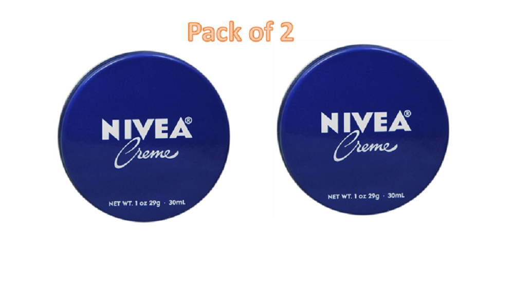 NIVEA Skin Creme 1 oz- pack of 2