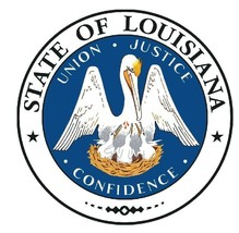 Louisiana State Seal Sticker Made In The Usa R537 - $1.45+