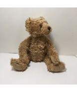 "Lucas Bear Plush Stuffed Animal Gantz Cottage Collectibles Jointed 16"" - $19.34"
