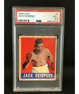 1948 Leaf Boxing #1 Jack Dempsey PSA 3 VG+ - $163.35