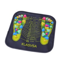 Reflexology Walk Stone Foot Leg Pain Relieve Relief Walk Massager Mat He... - $205,79 MXN