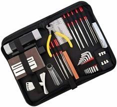 42 Pcs Guitar Repair Maintenance Tool Kit Haploon Guitar Setup Kit Repai... - $49.99