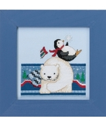 Polar Play 2017 Polar Opposites cross stitch kit Debbie Mumm Mill Hill - $14.85