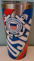 Tervis U.S. Coast Guard 20 oz Stainless Steel With Hammer Lid NEW - $23.14