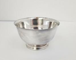 "Vintage WM Rogers & Son Silverplate Pedestal Bowl 5""x2.75"" - $14.50"