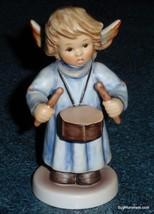"Goebel Hummel Angel Figurine ""Celestial Drummer"" #2096/C TMK8 With Original Box! - $100.87"