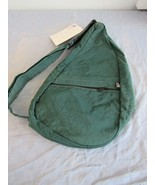 AmeriBag Healthy Back Bag Nylon Sling Bag Green With Bonus Ergopad - $64.38