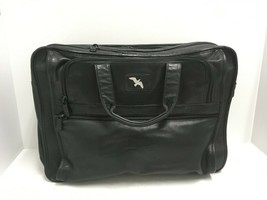 Vintage TUMI 906D3 Leather Briefcase/Business Bag-Missing Shoulder Strap... - $46.74