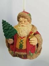 Hallmark Keepsake Ornament -Evergreen Santa - 1996 Special Edition - $5.30