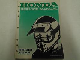 1986 1987 1988 1989 Honda XR250R Service Shop Repair Manual Factory Oem Book - $42.56