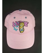 NASCAR On Fox Digger Annie Chase Authentics Strap Back Hat New Ladies Pink - $24.74