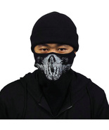 Call of Duty Ghosts COD half face Skull Mask and hat Balaclava Cosplay - $22.61