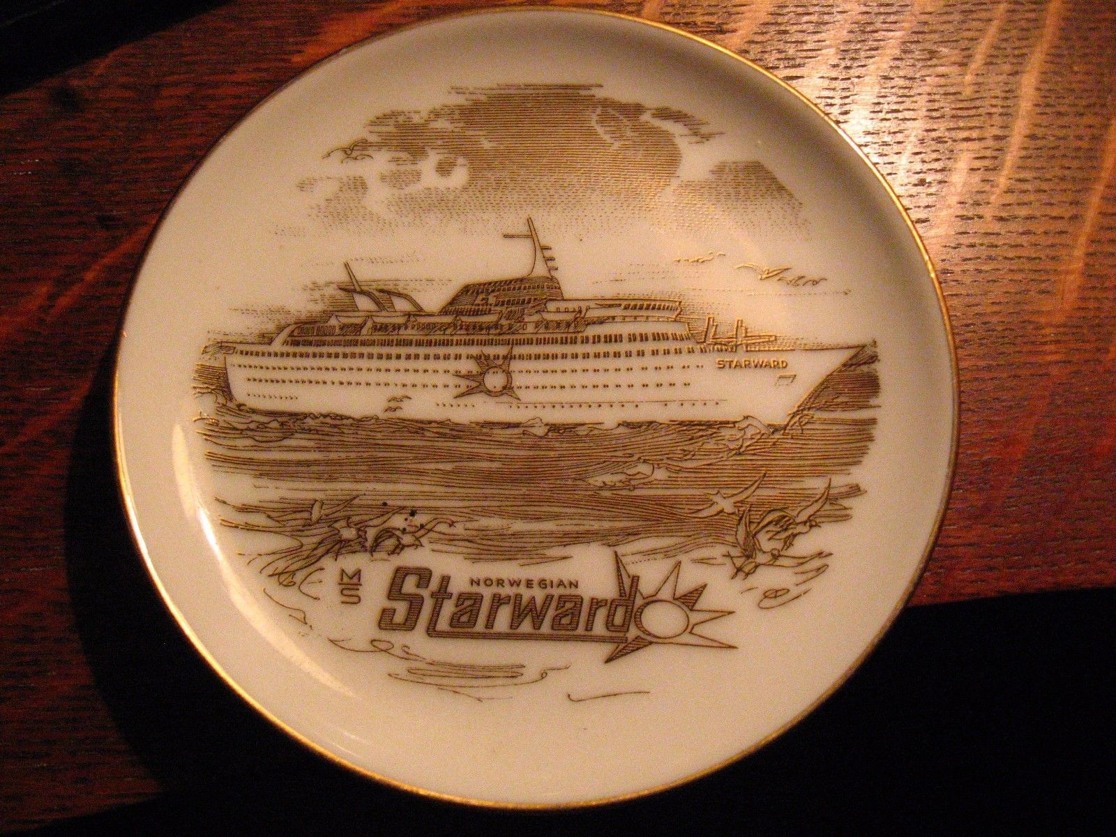 Norwegian Starward Ship Plate Vintage And Similar Items - Starward cruise ship