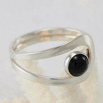 Black Onyx 925 Sterling Silver Fine Ring Band Ring Handmade Jewelry mi4535 - $12.97