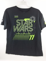 Star Wars Empire Dark Side 77 Men's Black and Neon Green T-Shirt Size XL - $8.59