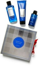New Bath & Body Works Ocean for Men Gift Box Set Mist, Shower Gel, Cream  - $39.27