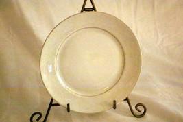 "Rosenthal White Velvet Salad Plate 7 3/4"" Continental Line Gold Trim - $6.92"