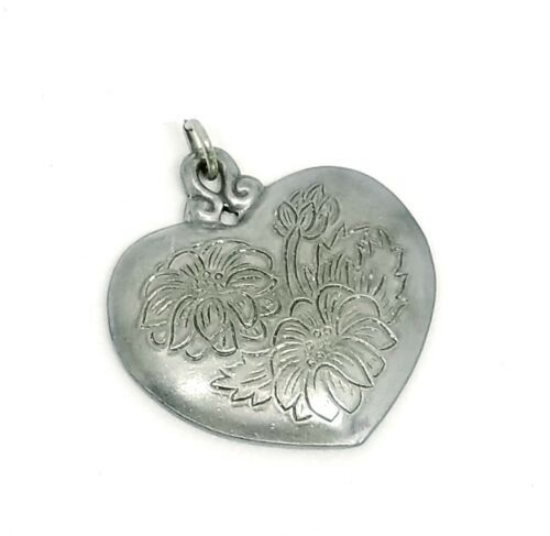 Primary image for Kirk Stieff Flower of the Month PEWTER Pendant ASTER September