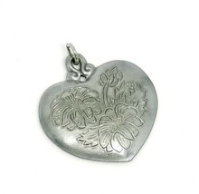 Kirk Stieff Flower of the Month PEWTER Pendant ASTER September - $19.79