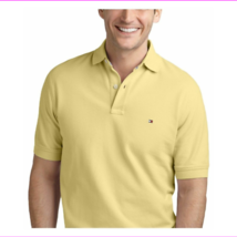 Tommy Hilfiger Men's Classic-Fit Ivy Polo, Provence Yellow, Size XS, MSR... - $21.36
