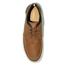 Goodfellow & Co. Bernie Brown Leather/Textile Casual Boat Shoes NWT image 2