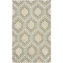 Safavieh Modern Art MDA626A Handmade Light Blue-Green Area Rug, 4' X 6' - $89.09