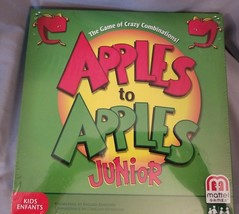 Apples to Apples Junior Kids Card Game by Mattel NEW SEALED - $16.34