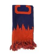 Cleveland Adult Size Soft Fabric Winter Knit Scarves (Navy/Red Skyline) - $13.98