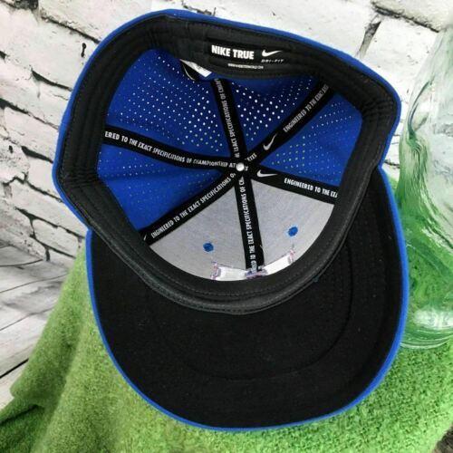 Nike True Mens Sz M-L Hat Blue Dri-Fit Ventilated Back Fitted Baseball Cap