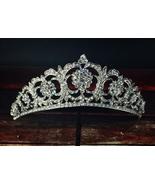 """""""Edwardian Floral"""" Swarovski Crystal Tiara - $120.00"""